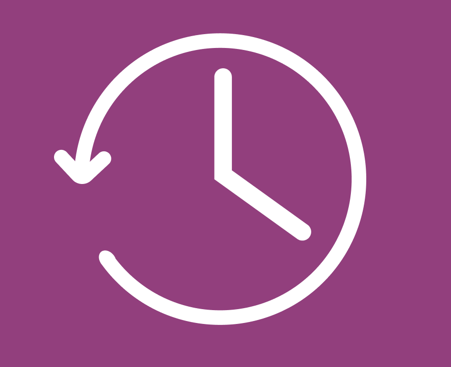 Arrive on time icon